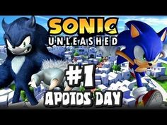 Sonic Unleashed (360/PS3) - (1080p) Part 1 - Opening & Apotos Day