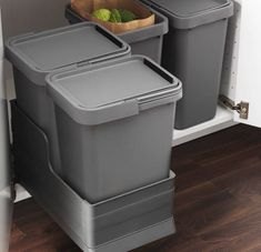 Rationell waste sorting bins ikea kitchen storage pinterest sorting - Ikea pull out trash bin ...