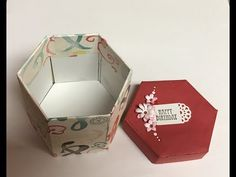 Stamping With Val - Hexagon Gift Box Video - YouTube