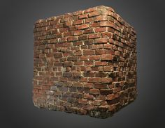 Procedural Brick Diorama Scene , Ben Keeling on ArtStation at…