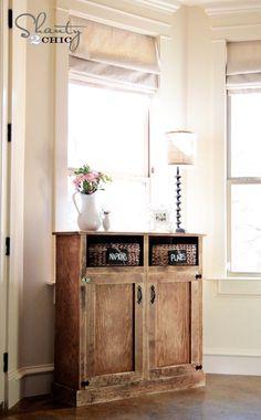 DIY Furniture : Console Table DIY