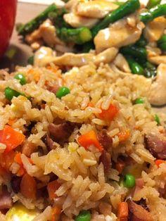 Rice Cooker Chinese Fried Rice Recipe Main Dishes, Side Dishes with white rice… Aroma Rice Cooker, Rice Cooker Steamer, Rice Cooker Recipes, Pressure Cooker Recipes, Rice Recipes, Asian Recipes, Cooking Recipes, Fried Rice Recipe Rice Cooker, Rice Cooker Jambalaya Recipe