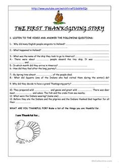 English ESL thanksgiving worksheets  - Most downloaded  (186 Results) | Page 5