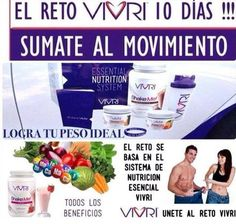 Únete al reto.. www.vivri.com/jennyorbe
