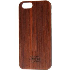 TWO-O Sapeli Wooden iPhone 6 Cover ($40) ❤ liked on Polyvore featuring accessories, tech accessories, phone cases, tech and brown