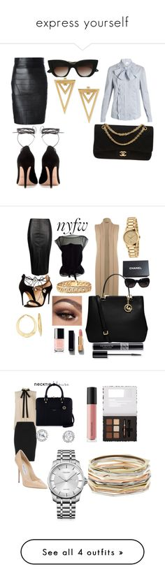 """""""express yourself"""" by ruth-jaimie-hollingsworth on Polyvore featuring E L L E R Y, Dsquared2, RED Valentino, Chanel, Valentino, Boohoo, WearAll, Louis Vuitton, Salvatore Ferragamo and MICHAEL Michael Kors"""