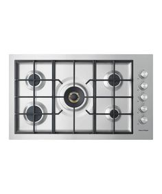 "CG365DWLPACX2 - 36"" 5 Burner Flush Gas on Steel Cooktop - 80966"