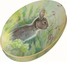 Boston International Egg Candy Tin, Rabbit In The Meadow * You can get additional details at the image link.