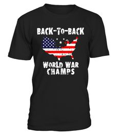 Back-To-Back World War Champs T Shirt for Men Women Kids Tee  Funny halloween adults T-shirt, Best halloween adults T-shirt