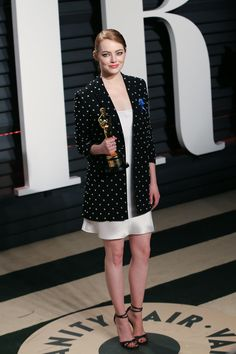 Emma Stone at the 2017 Oscar after party