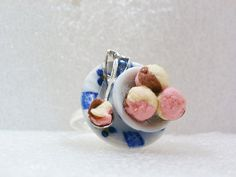 Hey, I found this really awesome Etsy listing at https://www.etsy.com/listing/109376571/bowl-of-icecream-ring-polymer-clay