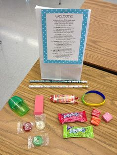 Mrs. O Knows: Welcome Back Poem Filled With Goodies
