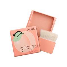 georgia peach powder blush ($28) ❤ liked on Polyvore