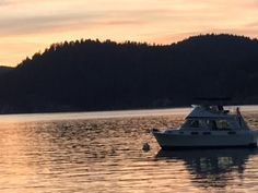 Boats at rest on Miner's Bay Springwater Lodge, Mayne Island, British Columbia, Canada