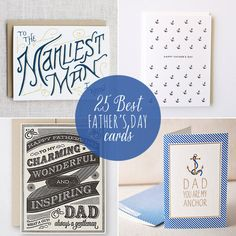 Click through for 25 quirky, cool, classy and stylish Father& Day cards! Paper Cards, Diy Cards, Father Knows Best, Card Making Inspiration, Creative Inspiration, Dad Day, Fathers Day Cards, Good Good Father, Masculine Cards