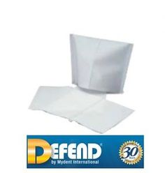 """Dental / Tattoo Textured Tissue Headrest Covers by DEFEND  10"""" x 13""""  500/Case"""
