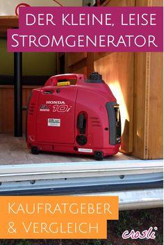 Ratgeber: der kleine, leiste Stromerzeuger mit 1000 Watt - für Wohnmobil + Camping