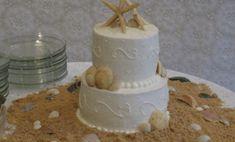 Beach Themed Wedding Cakes Designs