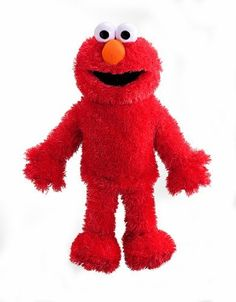 "Sesame Street Elmo Plush Full Body Hand Puppet by Gund. $16.13. From the Manufacturer                Elmo Full Body Puppet: Bring Elmo to life with hands-on fun, 15"" tall, Encourages creativity through pretend play, Develops fine motor skills.                                    Product Description                Gund Sesame Street Elmo Plush Full Body Hand Puppet. Save 19% Off!"
