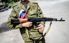 Russia supports terrorists in Ucraine