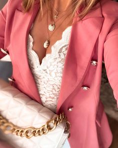 Zara Lace Top, Lace Tops, Spring Outfits, Winter Outfits, Zara Blazer, Zara Bags, Lace Bralette, Blazers, Street Style