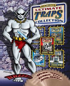 """Grimtooth's Ultimate Traps Collection from @GoodmanGames - """"It's a great read"""" Admiral Akbar - $39.99"""