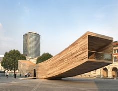 The Smile. Image Courtesy of Wood Design & Building Awards