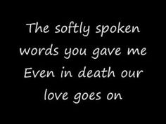 Evanescence-Even in Death (With Lyrics!!!)