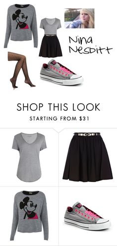 """School-Lacey Jasper Hale Love Story"" by twilightfanfics ❤ liked on Polyvore featuring Zadig & Voltaire, River Island, Miss Selfridge, Converse and Falke"