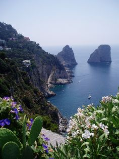 View from Giardini di Augusto, Capri | by David Biggins