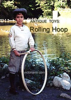 Trundling a hoop has been a favorite outdoor activity for children for centuries. Victorian Games, Victorian Toys, Neo Victorian, Steampunk Movies, Steampunk Gadgets, Games For Kids, Activities For Kids, Steampunk Festival, Alternate History