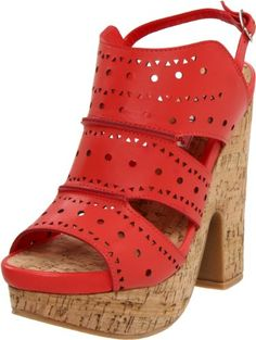 MyKinkyFoot.com - A Top Brand Shoe and Boot Store: Two Lips Line: Two Lips Womens Swinger Slingback Sandal  Buy New: $66.88 - $89.95