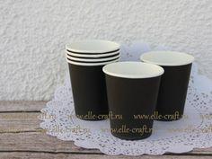 Бумажные стаканчики Black