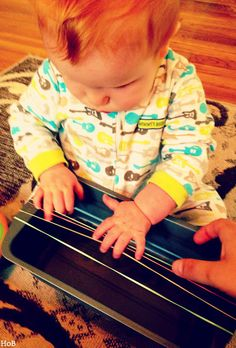Homemade Baby Guitar - House of Burke
