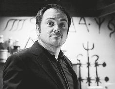 Nope. | Community Post: Can You Make It Through These 25 GIFs Of Crowley Without Swooning?