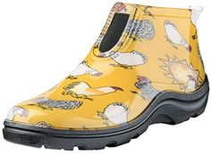 """Sloggers 2841CDY07 Women's Ankle Boot Waterproof, Wo's sz 7, Daffodil Yellow  Made in the USA from 100% recyclable material  Maximum comfort; includes our exclusive """"all-day-comfort-insole."""" thickness: 7mm heel/5mm ball  Fit info: 1/2 Sizes order up, and for a perfect fit use our exclusive 1/2 sizer insole - search style 330Bk  100% waterproof with a deep lug sole  100% recyclable"""