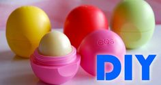 How To Make Your Own EOS Lip Balm