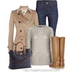 Knee-High Boots, created by oxigenio on Polyvore