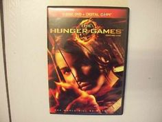 """Classic The Hunger Games 2 Disc DVD+Digital Copy Circa 2012.  """"The World Will Be Watching"""".  Only $20."""