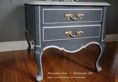 Gorgeous Graphite & Paris Grey, Chalk Paint™ by Ann …