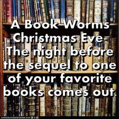 A bookworm's Christmas eve