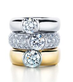 i have always loved the Tiffany Etoile rings, They are my faaaaavorite.