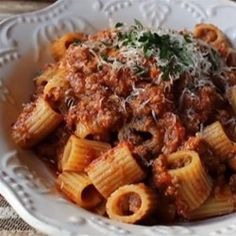 "How to Make Bolognese Sauce | ""The hearty and intensely flavorful Bolognese sauce is more than just a pasta sauce with beef and tomatoes. It has a few secret ingredients to amp up the taste"