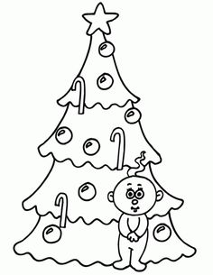 Free Printable Christmas Tree Coloring Pages For Kids Christmas Tree Coloring Page, Christmas Trees For Kids, Colorful Christmas Tree, Xmas Tree, Christmas Themes, Coloring Pages To Print, Coloring Pages For Kids, Coloring Sheets, Adult Coloring
