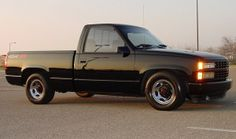 Chevy Silverado 454 SS, oh the memories I have of driving a truck like this.....
