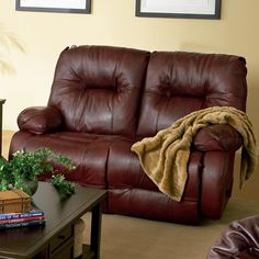 Key West   Leather Power Reclining Loveseat   L700CP4 Loveseats From Best  Home Furnishings At