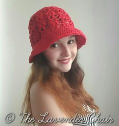 Weeping Willow Floppy Sun Hat - Free Crochet Pattern - The Lavender Chair
