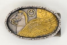 CLOSE LOOK OF BELT BUCKLE MADE BY MRS YEUTYKH ASYA