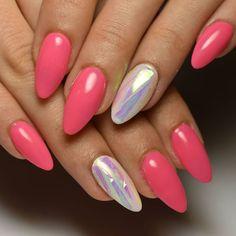 "Páči sa mi to: 11, komentáre: 1 – Gel Nails EDI (@gelnailsedi) na Instagrame: ""@andy_lig #nails #gelnails #pinknails #auroranails #brokenglassnails #mirrorfoil #nailsofig…"""
