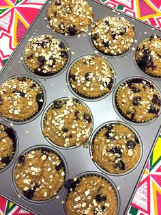 Healthy Blueberry Oatmeal Muffins – Gluten-Free, Sugar-Free and Low-Fat! – Melanie Cooks Oatmeal Blueberry Muffins Healthy, Gluten Free Blueberry, Gluten Free Muffins, Healthy Muffins, Healthy Cookies, Healthy Desserts, Healthy Treats, Healthy Foods, Bakery Muffins